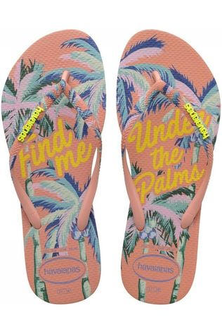 Havaianas Slipper Slim Summer Middenroze/Ass. Bloem