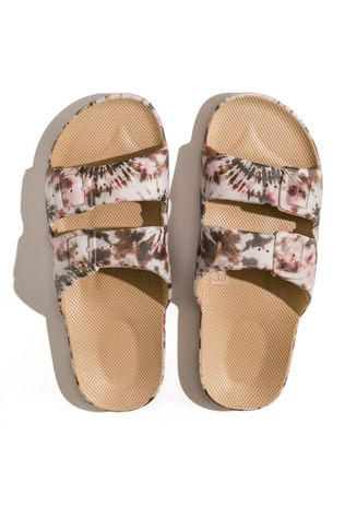 FREEDOM MOSES Flip Flop Joplin Camel Camel Brown/Ass. Camouflage