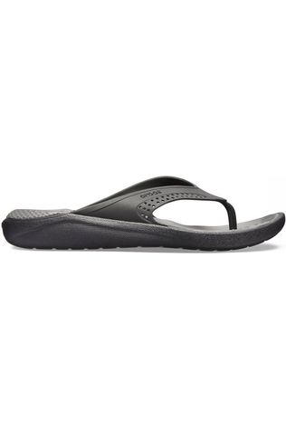 Crocs Tongs Literide Flip Noir