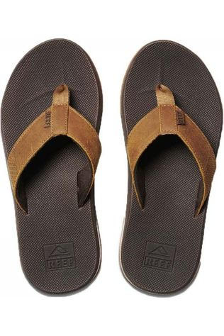 Reef Flip Flop Leather Fanning Low brown