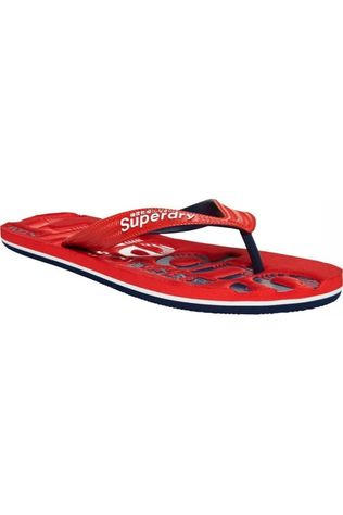 Superdry Tongs Classic Scuba Rouge