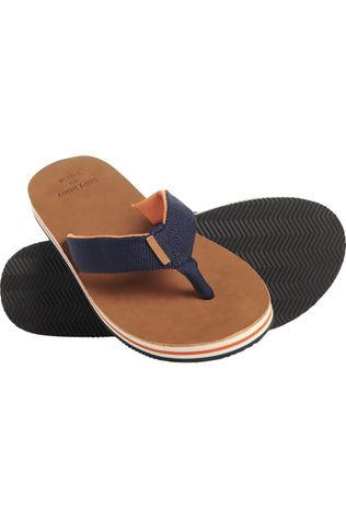 Superdry Tongs Surf Leather Flip Flop Bleu Foncé