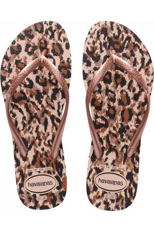 Havaianas Tongs Slim Animals Assorti / Mixte/Brun Sable