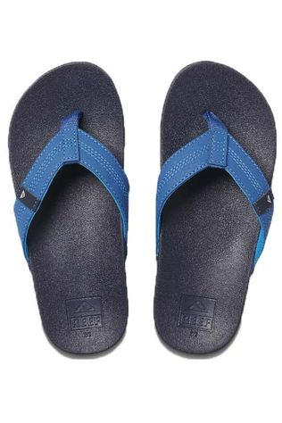 Reef Flip Flop Little/Kids Cushion Bounce Navy Blue