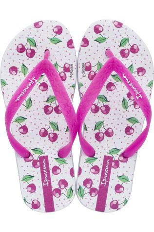 Ipanema Slipper Temas Ix Kids Fuchsia