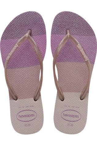 Havaianas Tongs Slim Palette Glow Rose Moyen