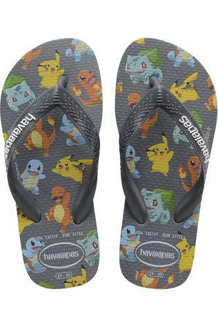 Havaianas Flip Flop Kids Top Pokemon Black/Assorted / Mixed