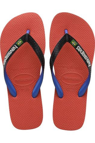 Havaianas Flip Flop Brasil Mix Red/Navy Blue