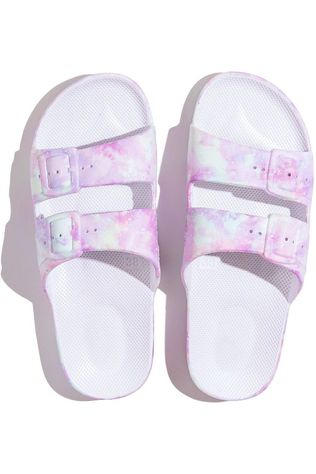 FREEDOM MOSES Flip Flop Moses Slide Unicorn light pink