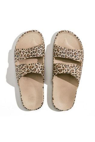 FREEDOM MOSES Flip Flop Moses Slide Wildcat Sand Brown/08