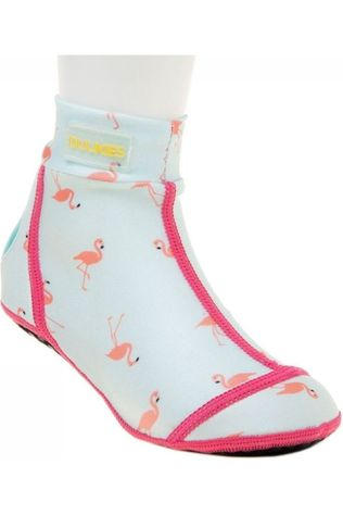 Duukies Beachsocks Shoe Flamingo Mint light green