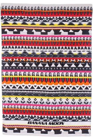 Banana Moon Strandhanddoek Wood Towel Cotton Rood/Assortiment