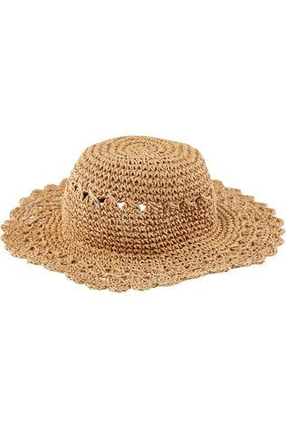 Pieces Chapeau Pcnopia Straw Taupe