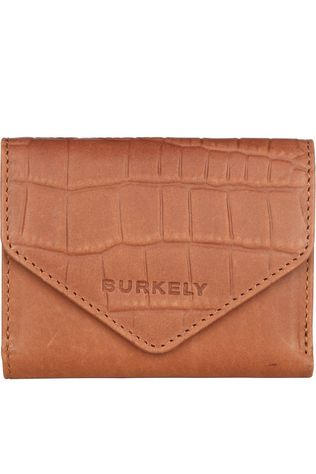 Burkely Wallet Croco Cody Wallet S Camel Brown