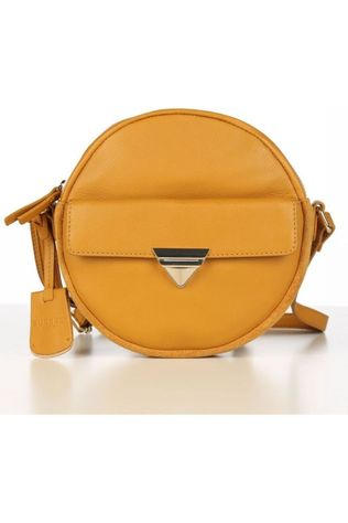 Burkely Bag Secret Sage X Over Round dark yellow