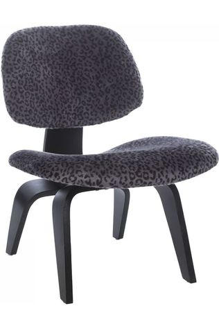 Yaya Home Chair Fake Fur Wood Assorti / Gemengd