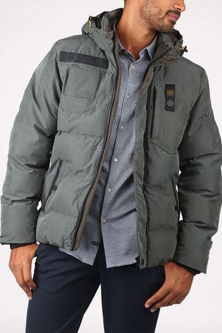 PME Legend Coat Snowburst mid grey
