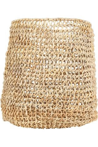 Yaya Home Kleine Opberger Open Woven Basket - Big Kameelbruin