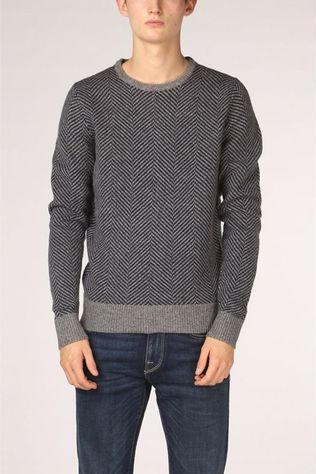 Mc Gregor Pullover Mm110800034 light grey/dark blue