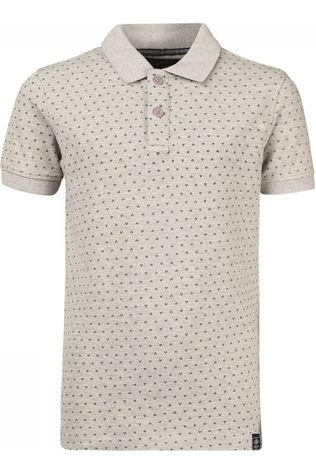 Petrol Polo Polo Ss Light Grey Marle