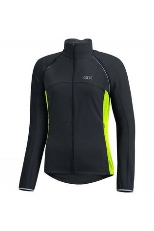 Gore Wear Windstopper C3 Gore Phantom Zip-Off black/yellow