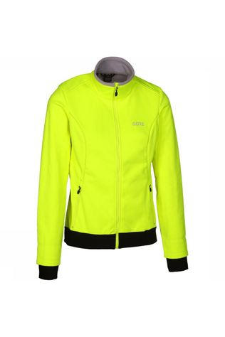 Gore Wear Sofsthell Gore Windstopper Thermo mid yellow
