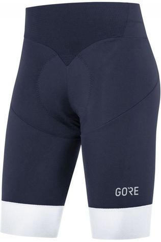 Gore Wear Pantalon C5 Short Tights + Bleu Foncé/Blanc