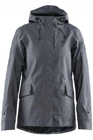 Craft Cycling Jacket Ride Torrent mid grey