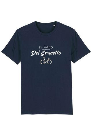 The Vandal T-Shirt Il Capo Del Grupetto dark blue