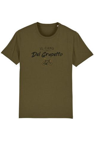 The Vandal T-Shirt Il Capo Del Grupetto dark khaki