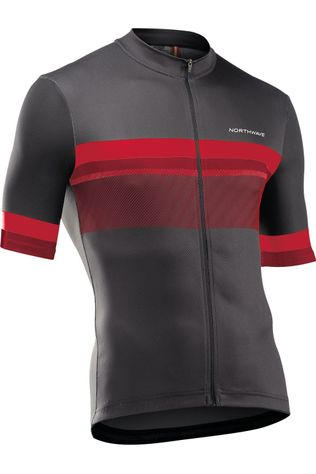 Northwave T-Shirt Fresh Jersey Noir/Rouge