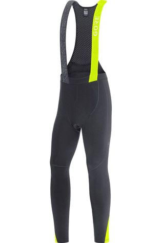 Gore Wear Pantalon C5 Thermo Bib Tights + Noir/Jaune Moyen