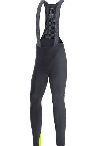 Gore Wear Broek C3 Thermo Bib Tights Zwart/Middengeel