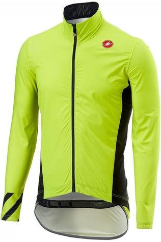 Castelli Jas Pro Fit Light Rain Middengeel