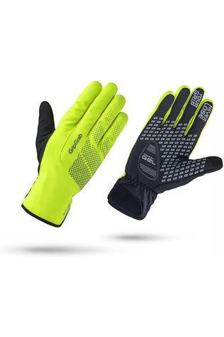 GripGrab Glove Ride Winterproof black/mid yellow