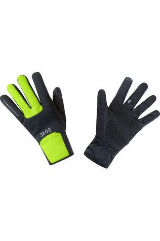 Gore Wear Glove M Windstopper Thermo black/yellow