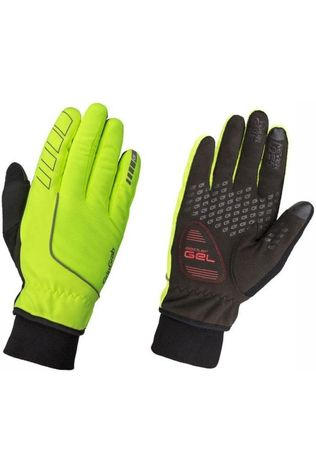 GripGrab Glove Windster Hi-Vis Windproof mid yellow/black