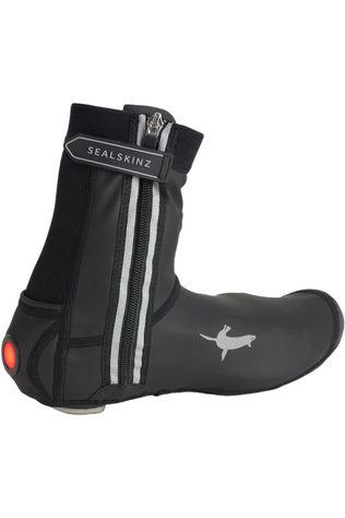 Sealskinz Overschoen All Weather Led Open Sole Cycle Zwart