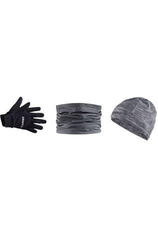 Craft Accessoire Gift Pack Hat L/XL Glove XL black