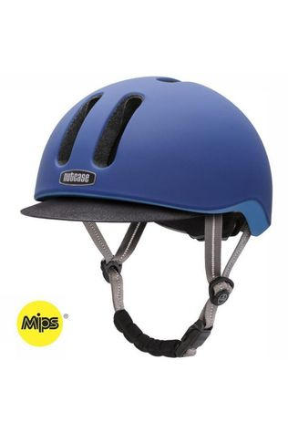 Nutcase Bicycle Helmet Metroride Mips mid blue