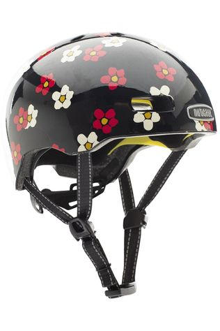 Nutcase Bicycle Helmet Street Gen4 Mips Black/Ass. Flower