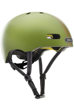 Nutcase Bicycle Helmet Solid Mips green/orange