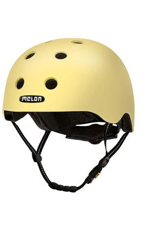 Melon Bicycle Helmet Posh M-XXL Light yellow