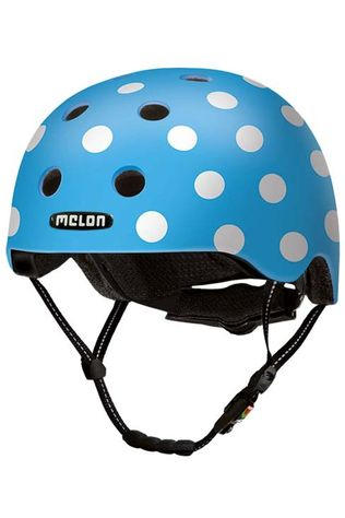 Melon Bicycle Helmet Dotty XXS-S light blue/white