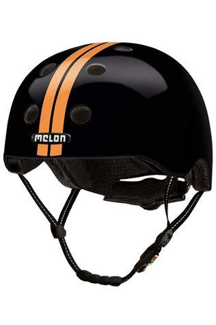 Melon Bicycle Helmet Straight XXS-S black/orange