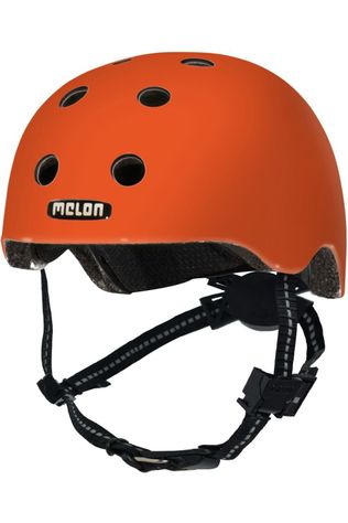 Melon Casque Velo Rainbow Toddler Orange
