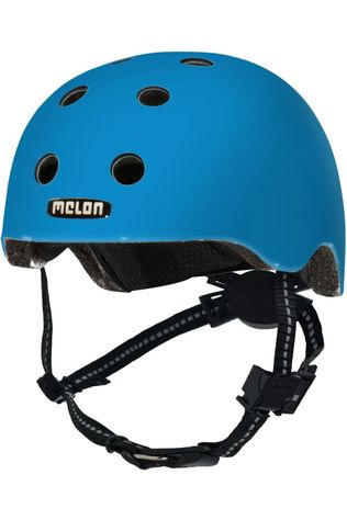Melon Casque Velo Rainbow Toddler Bleu