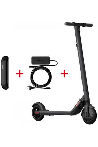 Segway Set Electric Scooter Ninebot ES2 Kickscooter with Battery and Charger black