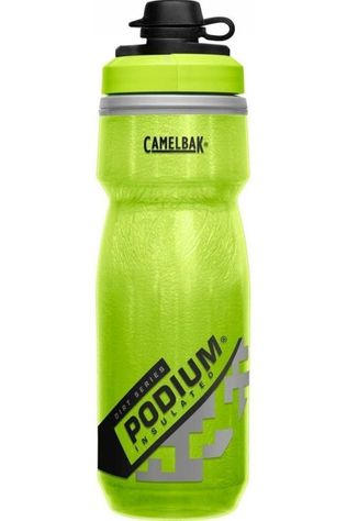CamelBak Bottle Podium Dirt Chill 21Oz  Lime Green