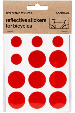 Bookman Gadget Sticky Reflectors Rouge